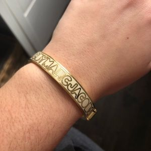 Marc By Marc Jacobs gold bangle